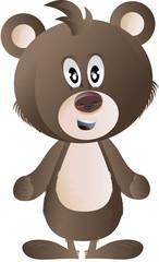clip art brown bear