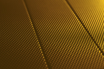 abstract gold metal background texture with pattern