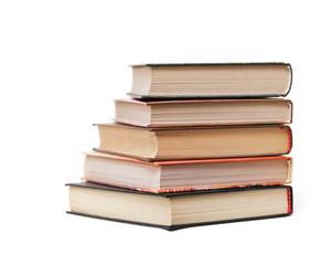 Alte Bücher aufeinander gestapelt
