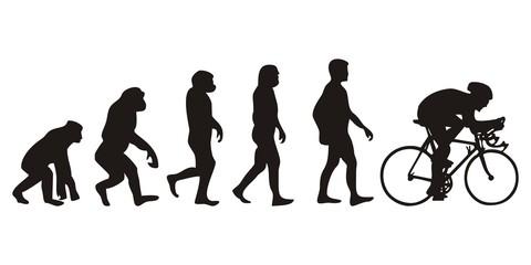 Vom Affen zum Radfahrer (Menschen)