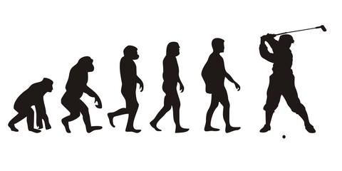 Vom Affen zum Golfer (Menschen)