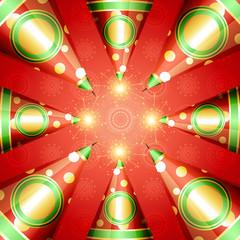 diwali crackers vector background