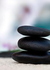 Recess Fitting Zen Balance | Stein Pyramide | Wellness Steine | sRGB