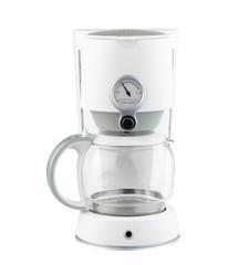 Coffee grinder machine a modern kitchen tool isolates