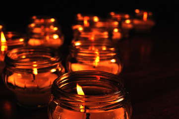 Candles for All Souls Day