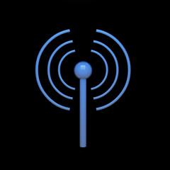3d Wireless Wifi Symbol