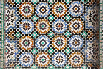 Moroccan tilework