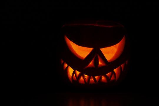 Scary Haloween Pumpkin