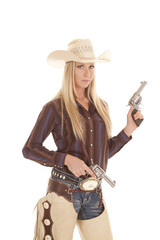 cowgirl two guns chaps