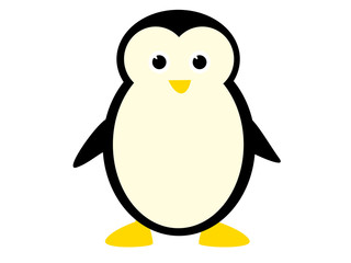 illustration of cute penguin