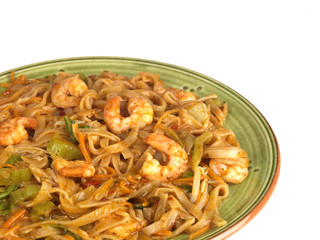 Spicy King Prawn and Noodles