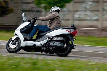 Fototapete - Moto biker