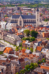 View of the city of Malines (Mechelen)