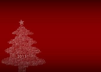 Weihnachtlicher Hintergrund 2013