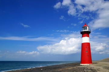 Wall Mural - Lighthouse. Westkapelle, Netherlands