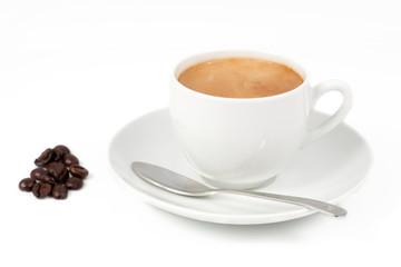 Por la mañana una tacita de cafe recien hecha