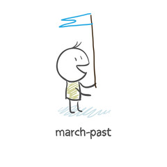 march-past