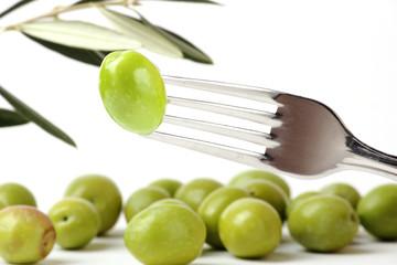 Fototapete - Olive green - Olive verdi