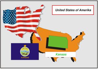 Vereinigte Staaten von Amerika - Kansas