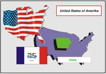 Vereinigte Staaten von Amerika - Iowa