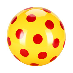 dotted ball