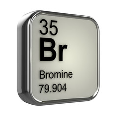 3d Periodic Table - 35 Bromine