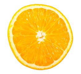 Slice of ripe orange