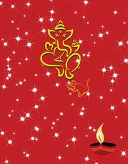Ganesh Diwali Greeting