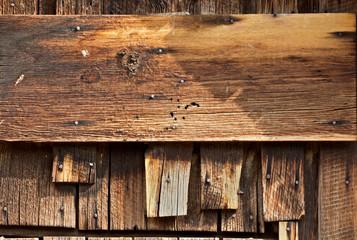 Vintage Barn Wood Horizontal Sign Board