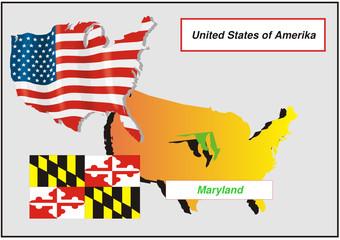 Vereinigte Staaten von Amerika - Maryland
