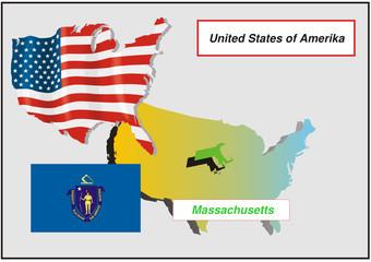 Vereinigte Staaten von Amerika - Massachusetts