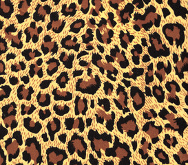 leopard fur as background