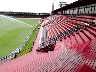 seat in football field