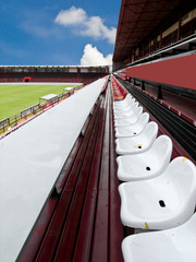 seat in football field