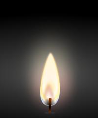 Kerze Flamme