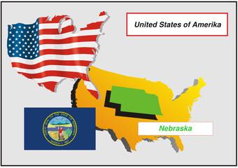 Vereinigte Staaten von Amerika - Nebraska