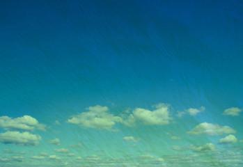 retro cloudy sky