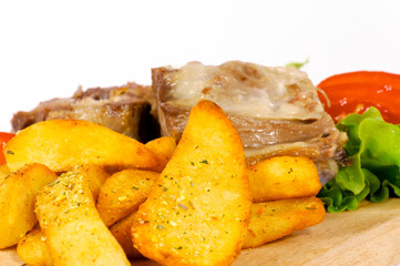 Spice potato
