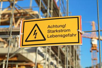 Achtung Starkstrom