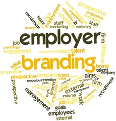 Word cloud for Employer Branding