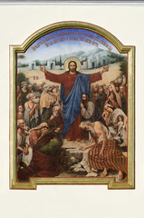 The painting of the Jesus Christ