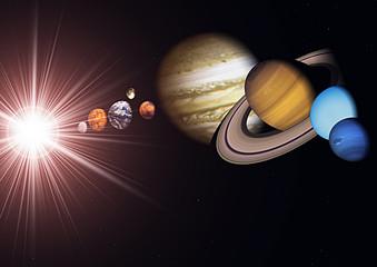 Sistema solare pianeti