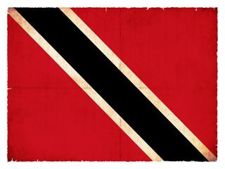 Grunge-Flagge Trinidad und Tobago