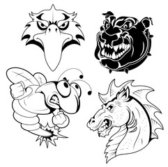 Tattoo Mascots
