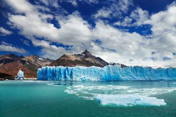 Poster Glaciers Perito Moreno Glacier, Argentino Lake, Patagonia, Argentina
