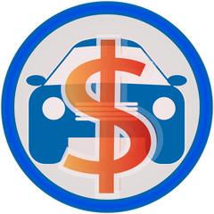 automobile service icon sale