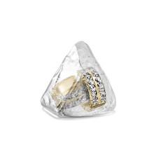 earring in ice cube