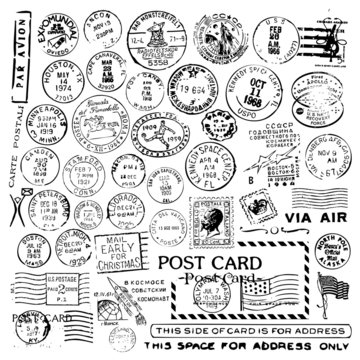 Air Mail Stamp Collection