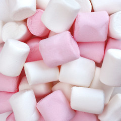 Canvas Prints Candy Marshmallows