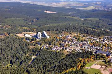 Luftbild Oberhof / Thüringer Wald